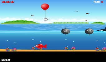 Screenshot of Hungry Fish! Out Of Water