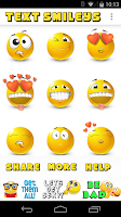 Screenshot of Text Smileys