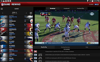 Screenshot of NFL Game Rewind