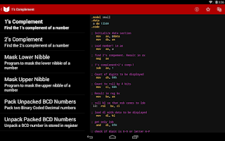 Screenshot of Aiuto Java, C++ & ASM (AdFree)