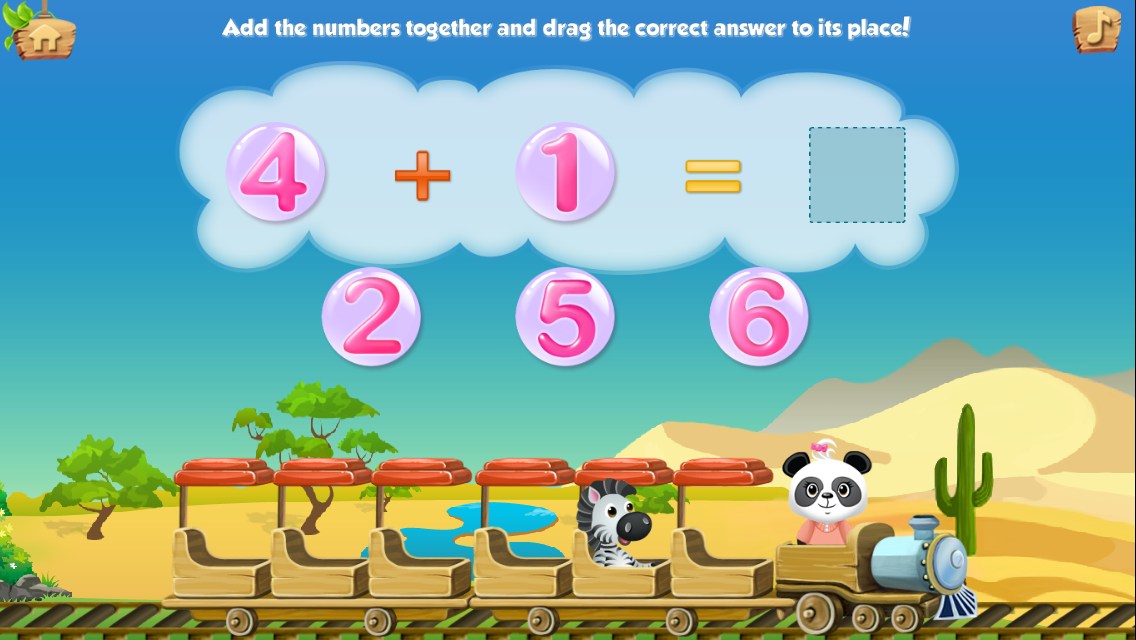 Lola's Math Train Learn Basics Screenshot 8