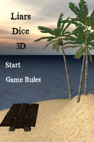 Liar's Dice 3D