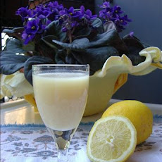 Lemon cream liqueur