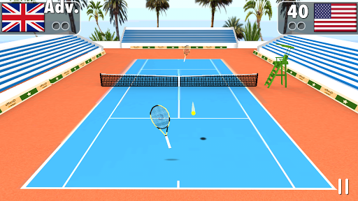 Smash Tennis 3D - screenshot