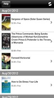 Screenshot of Free Books for Kindle