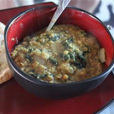 Indian Dahl with Spinach