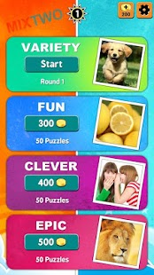 MixTwo – Mix 2 Pics 1 Word APK for Bluestacks