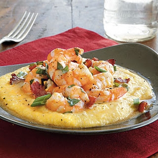 Cheesy Shrimp and Grits