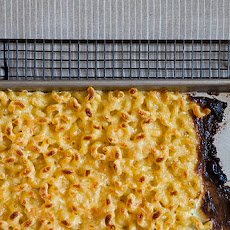 Baking Sheet Macaroni and Cheese
