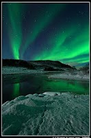 Screenshot of Weather : Aurora borealis