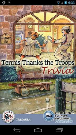 Tennis Thx the Troops Trivia