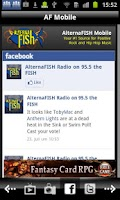 Screenshot of AlternaFISH Radio