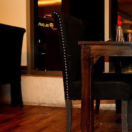 by Pranavesh NeverSerious - Novices Only Objects & Still Life ( chair, shadow, night, table, light,  )