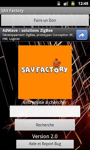 SAV Factory