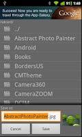 Screenshot of Share Photo File Saver