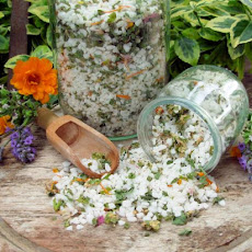Flower and Herb Salt