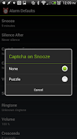 Screenshot of ★ Alarm Clock ★ w/ Snooze