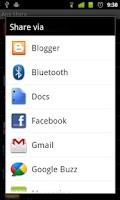 Screenshot of App Share