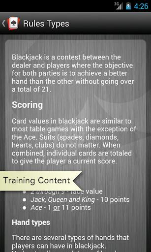 Learn Pro Blackjack Trainer - screenshot