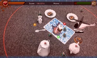 Screenshot of Zombie Toy Attack
