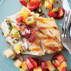 Strawberry-Pineapple Salsa