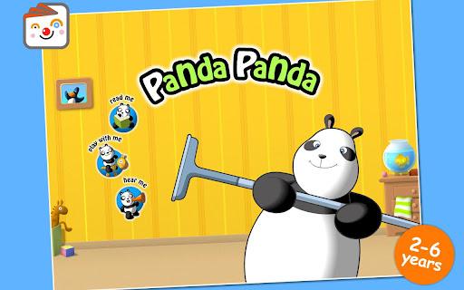 Story Book Panda Panda