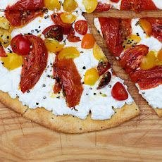 Ricotta and Roasted Tomato Pizza