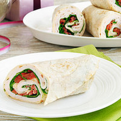 Smoked Turkey and Chipotle Cream Wraps