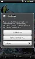Screenshot of Pillreminder