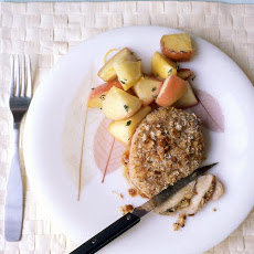 Baked Mustard-Coated Pork Chops