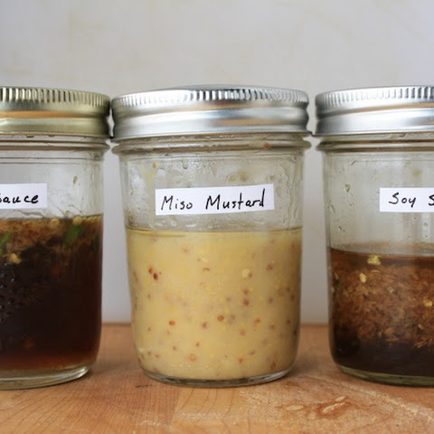 Mustard, Rice Vinegar, and Miso Dressing