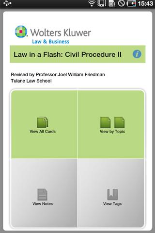 LIAF Civil Procedure II