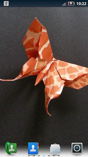 華麗的摺紙動態壁紙