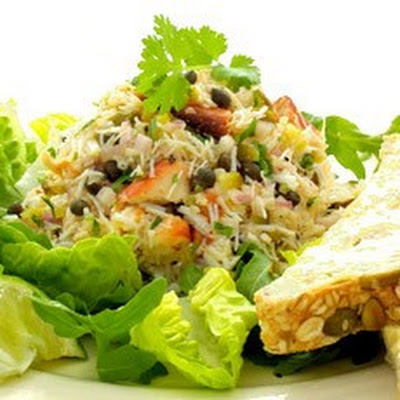 Fresh Crab Salad in Vinaigrette