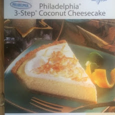 Philadelphia 3-Step Coconut Cheesecake