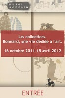 Screenshot of Musée Bonnard : collections
