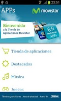 Screenshot of Movistar APPs