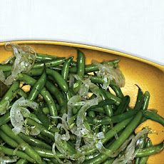 Green Beans with Pickled-Onion Relish