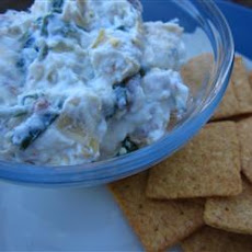 Super-Simple Bacon, Spinach, and Artichoke Dip