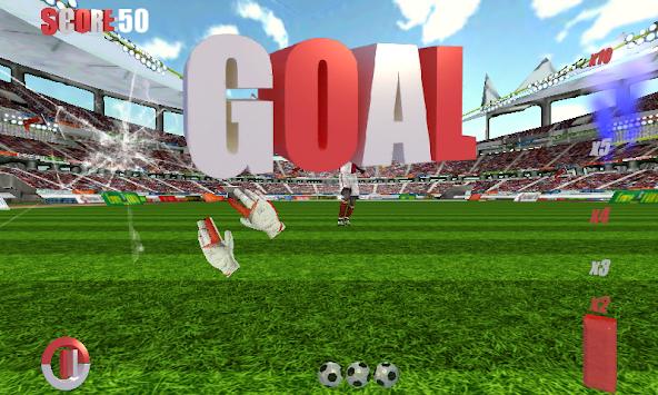 Football Games Goalkeeper 3D apk screenshot