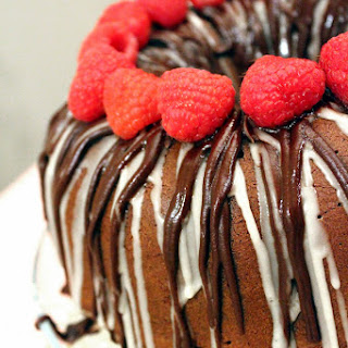 Triple Chocolate Sweetheart Pound Cake