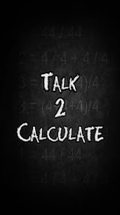 Talk 2 Calculate - screenshot