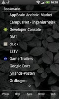 Screenshot of LauncherPro Minimal White Skin