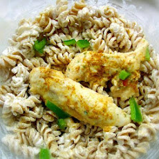 Moroccan Pasta Salad With Chicken