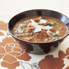 Vegetable-Lentil Soup (Soup Base Seasoning)