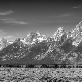 Teton Mountain Range by Bill Higginson - Landscapes Mountains & Hills