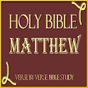 HOLY BIBLE: MATTHEW STUDY APP icon