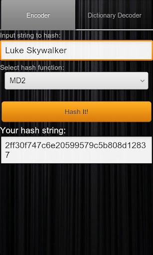 Hash Decrypt