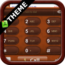 GOContacts theme Leather