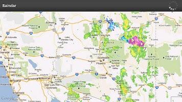 Screenshot of Raindar